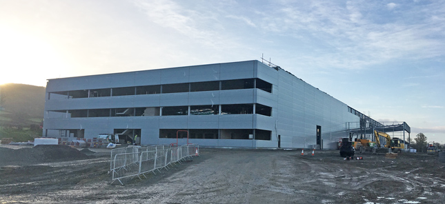 wide angle shot of our new headquarters