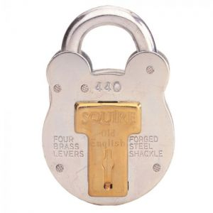 Squire 440 Old English Padlock - 50mm