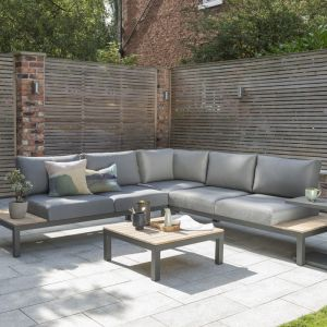 Kettler Elba 5 Seater Low Corner Lounge Set