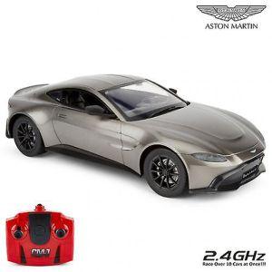 CMJ Aston Martin New Vantage Remote Controlled Car - Grey - 1:14