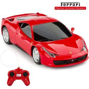 CMJ Ferrari 458 Italia Remote Controlled Car - Red - 1:24