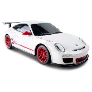 CMJ Porsche GT3 RS Remote Controlled Car - White - 1:24