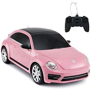 CMJ Volkswagen Beetle Remote Controlled Car - Pink - 1:24