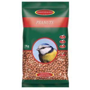 Johnston & Jeff Wild Bird Peanuts - 1kg