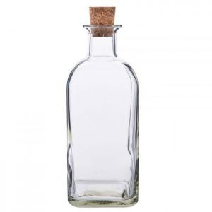 Glass Bottle with Cork – 1 Litre