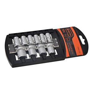Tactix 10 Piece 1/4 Inch Drive Socket Rack
