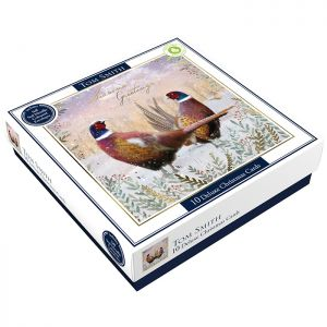 Tom Smith Deluxe Pheasants Christmas Cards - 10 Pack