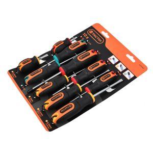 Tactix Screwdriver Set - 10 Piece