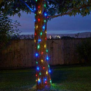 Smart Solar 100 Multi Coloured LED String Lights