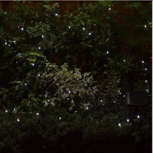 Smart Solar 100 LED String Lights - White