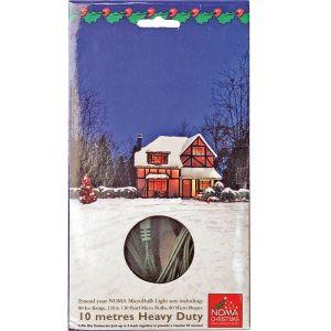 Noma Christmas Light Extension Lead - 10m