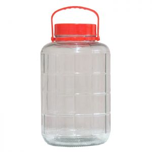 Glass Preserving Jar with Lid - 5L