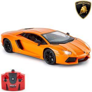 CMJ Lamborghini Aventador LP 700-4 Remote Controlled Car - Orange - 1:14