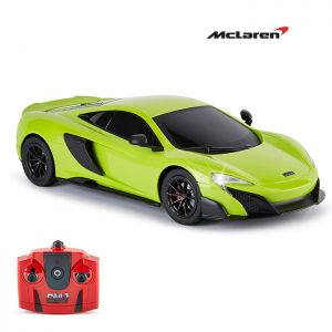 CMJ McLaren 675LT Coupe Remote Controlled Car, Green – 1:18