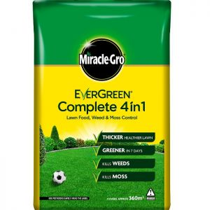 Miracle-Gro Evergreen Complete 4 in 1 Lawn Food - 360m²
