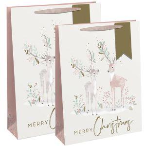 Christmas Deers Gift Bag