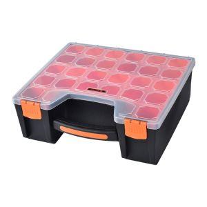Tactix 7 Compartment Deep Organiser - 12 Inch