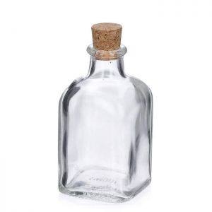 Glass Bottle with Cork – 125ml