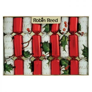 Robin Reed Bows and Berries Mini Christmas Crackers – Pack of 8