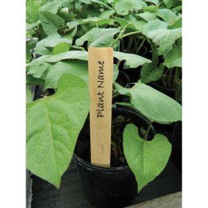 Garland 13cm Wooden Plant Labels - 10 Pack
