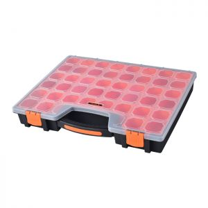 Tactix 22 Compartment Thin Organiser - 16 Inch
