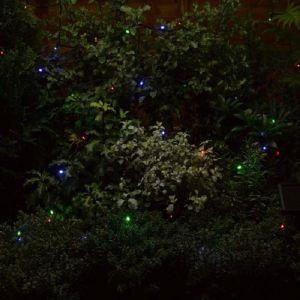 Smart Solar 50 LED Multi Coloured String Lights