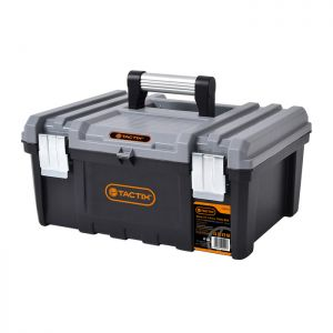 Tactix Power Tool Box with Carry Tray - 17in