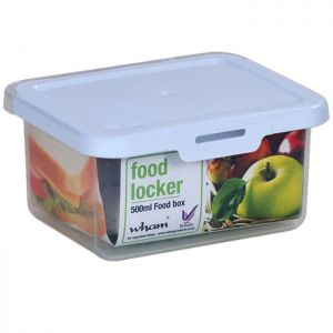 WHAM Rectangular Food Locker - 500mL