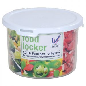 WHAM Round Food Locker - 1.2L