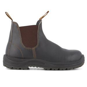 Blundstone Men's 192 Safety Dealer Boot - Stout Brown