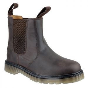 Amblers Unisex Chelmsford Dealer Boots – Brown