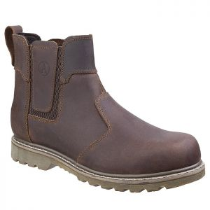 Amblers Abingdon Non-Safety Dealer Boots - Brown