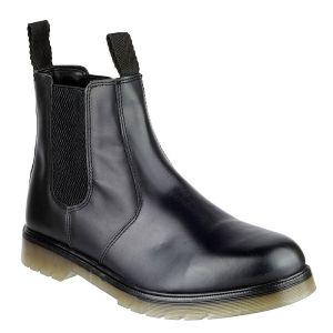 Amblers Unisex Colchester Dealer Boots – Black