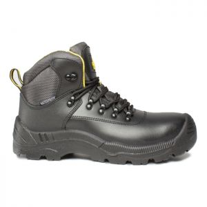 Amblers Unisex FS220 Safety Boots – Black