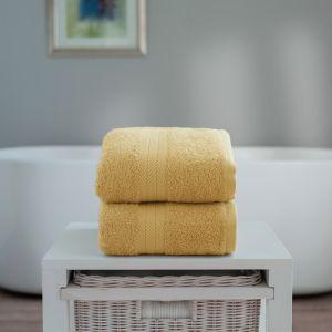 Deyongs Kingston Jumbo Bath Sheet - Saffron Yellow