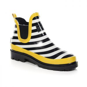 Regatta Women's Harper Low Wellington Boots – Navy/Lemon Tea