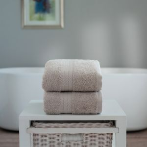 Deyongs Kingston Jumbo Bath Sheet - Pebble
