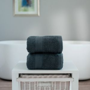 Deyongs Kingston Jumbo Bath Sheet - Dark Grey