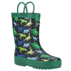 Cotswold Kids Sprinkle Wellington Boots – Dinosaur
