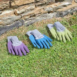 Briers All Season Gardening Gloves, Aubergine – Small