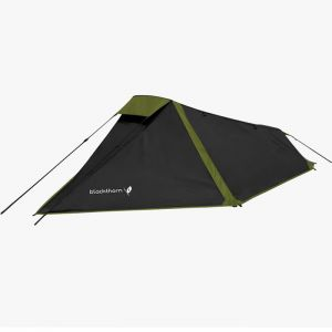 Highlander Blackthorn 1 Man Tent –  Black