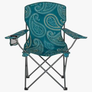 Highland Stirling Camp Chair – Paisley Teal