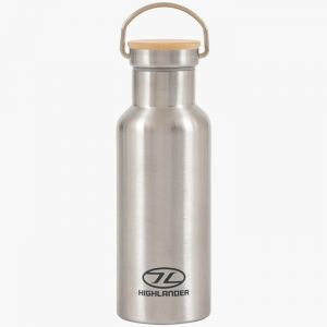 Highlander Campsite Bottle – Silver