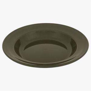Highlander 22cm Deep Plate – Olive