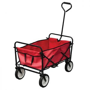 Yellowstone Folding Camping Cart – Red
