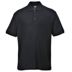 Portwest Naples Polo Shirt – Black