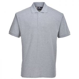 Portwest Naples Polo Shirt – Heather Grey