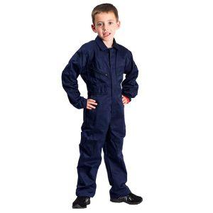 Portwest Children's Front Boilersuit – Navy