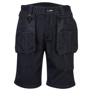 Portwest PW345 Holster Work Shorts – Black