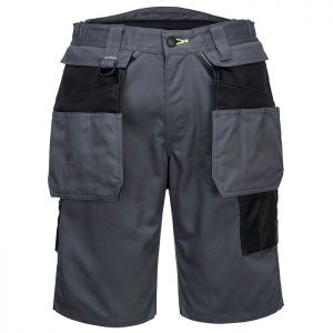 Portwest PW345 Holster Work Shorts – Zoom Grey